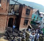 Baramulla: Houses destroyed in Baramulla fire