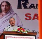 Barasat: President Mukherjee inaugurates school building  in Barasat