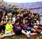 Barcelona (Spain): FC Barcelona wins La Liga trophy