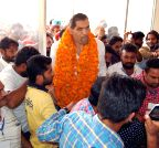 Bathinda: Khali during an anti-drug seminar