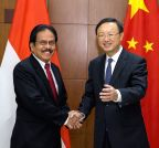CHINA-BEIJING-YANG JIECHI-INDONESIA-ECONOMIC COOPERATION-MEETING (CN)