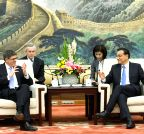 CHINA-BEIJING-LI KEQIANG-US-JACOB LEW-MEETING (CN)