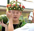 CHINA-BEIJING-WATERMELON FESTIVAL