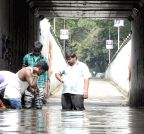 Bengaluru: Waterlogged underpass