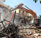 Bengaluru: Demolition drive near Banaswadi Lake