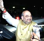 Bengaluru: Amit Shah in Bengaluru