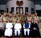 Bengaluru: President's Medal investiture ceremony at Raj Bhavan