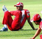 Bengaluru: Kings XI Punjab - practice session