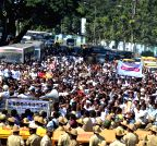 Bengaluru: Helpers' Association's rally