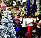 Bengaluru: Christmas shopping