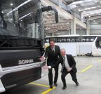 Bengaluru: Scania bus factory - inauguration
