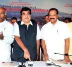Bengaluru: Nitin Gadkari lays foundation stone of upgradation of NH projects