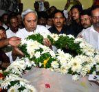 Bhubaneswar: Naveen Patnaik pays tribute to JB Patnaik