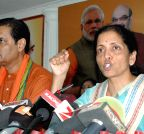 Bhubaneswar: Nirmala Sitharaman's press conference