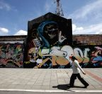COLOMBIA-BOGOTA-CULTURE-GRAFFITI-FEATURE