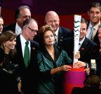 BRAZIL-BRASILIA-RIO OLYMPIC GAMES TORCH