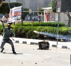EGYPT-CAIRO-UNIVERSITY-CLASH
