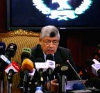 EGYPT-CAIRO-INTERIOR MINISTER-PRESS CONFERENCE