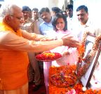 Chandigarh: Haryana CM pays tribute to Sardar Vallabhbhai Patel