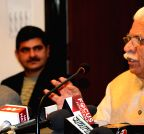 Chandigarh: Haryana CM's press conference