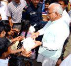 Chandigarh: Haryana CM's birthday