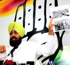 Chandigarh: Partap Singh Bajwa Punjab` press conference