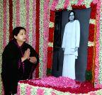 Chennai: J Jayalalitha pays tribute to Pasumpon Muthuramalinga Thevar