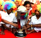 Chennai: ICC World Cup 2015 Trophy's promotion