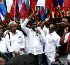 Chennai: Thamizhar Vazhvurimai Koottamaippu demonstration