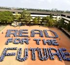 "Chennai: Students campaign for ""READ FOR FUTURE"""