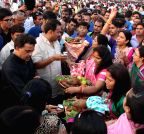 Mumbai: Chhath Puja celebrations - Sanjay Nirupam