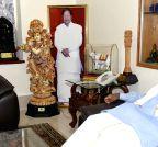 Ghulam Nabi Azad calls on Karnataka CM