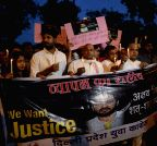 Congress candle light march