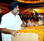 Sukhbir Singh Badal during a function