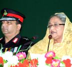 Dhaka: Raising anniversary of the RAB - Sheikh Hasina