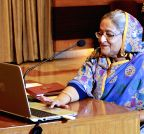 Dhaka: Sheikh Hasina declared the result of SSC
