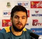 Dhaka (Bangladesh): Rilee Rossouw`s press conference