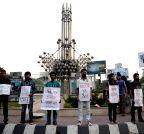 BANGLADESH-DHAKA-MURDER-PROTEST