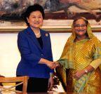 BANGLADESH-CHINA-LIU YANDONG-VISIT
