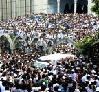 Dhaka: The funeral prayer of Ghulam Azam