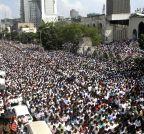 Dhaka (Bangladesh): Ghulam Azam's funeral