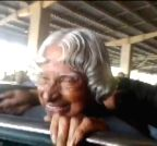Kalam arrives at LGBI Airport