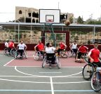 MIDEAST-GAZA-BASKETBALL-DISABLED