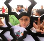 Gaza (Rafah): protest to open the Rafah border crossing