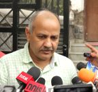 Ghaziabad: Manish Sisodia addresses mediapersons
