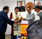 Guwahati: Gogoi felicitates King of Bhutan
