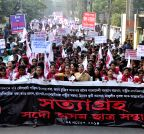 Guwahati: AASU demanding the deport of  illegal Bangladeshi migrants