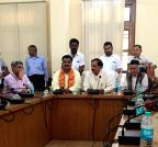 Haldwani: Mahesh Sharma's press conference