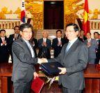 VIETNAM-HANOI-SOUTH KOREA-FREE TRADE AGREEMENT