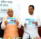 Haryana CM release the brochure of `PARIVARTAN`